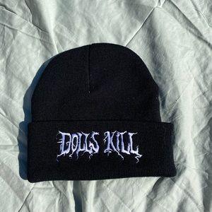 Black dolls kill beanie